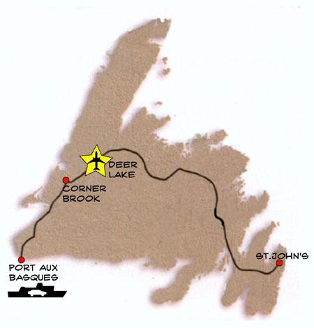 Traveling to Newfoundland