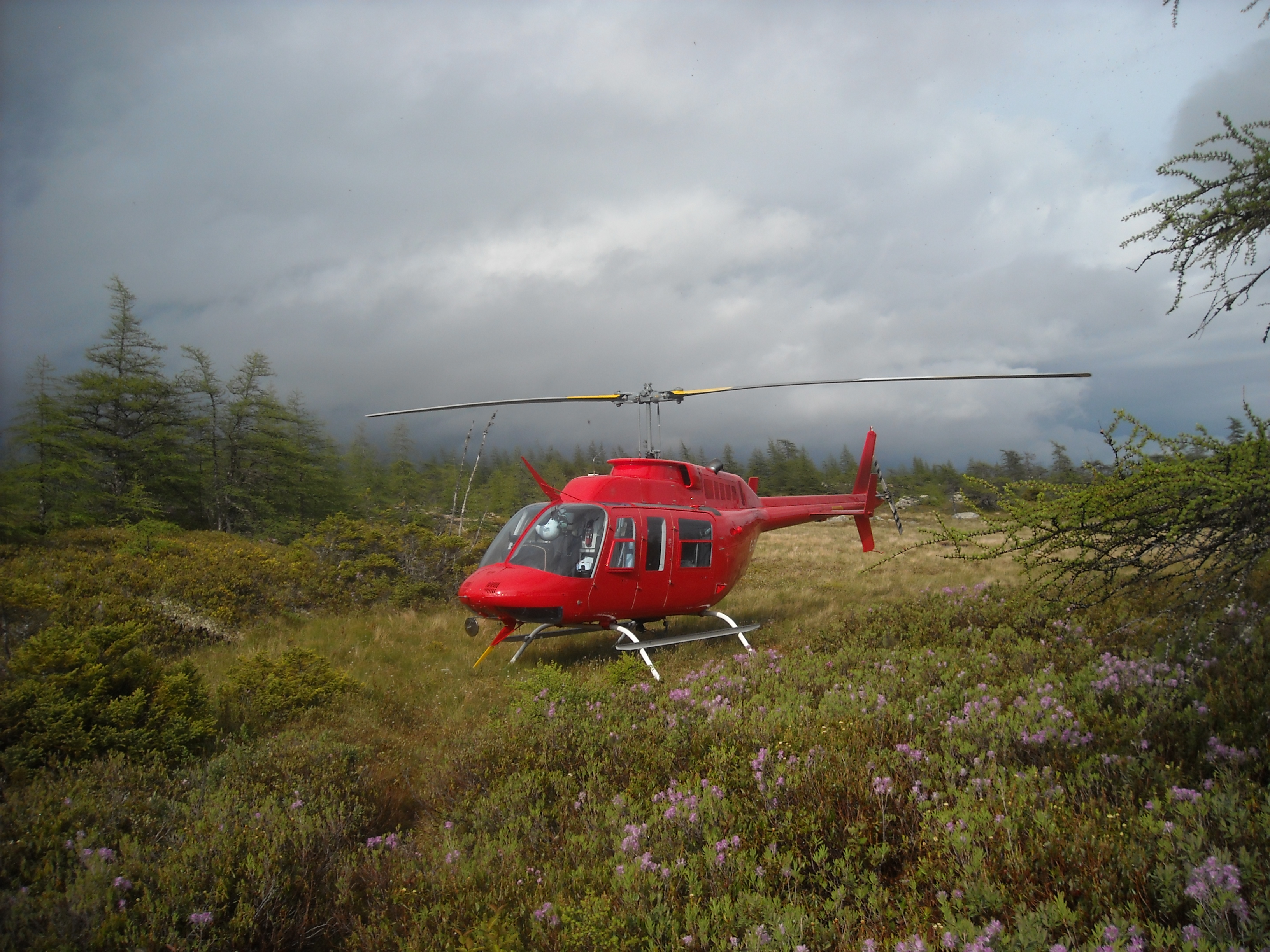 HELICOPTER ACCESS TO  REMOTE LOCATIONS